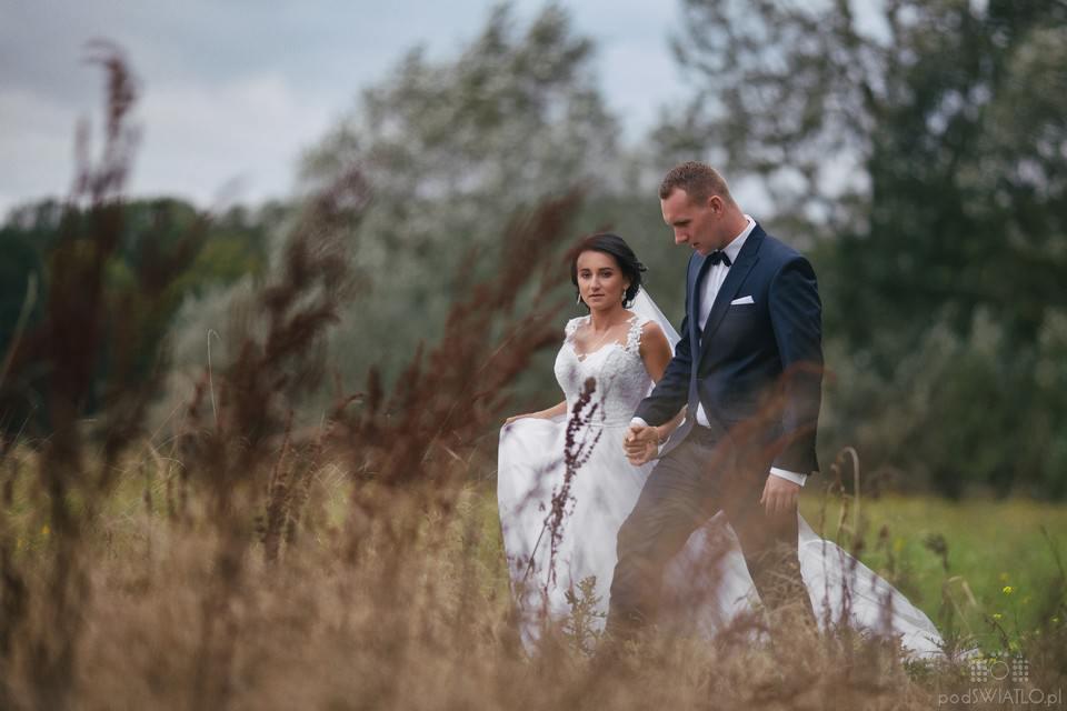 Paulina i Daniel Plener Ślubny Park Arkadia 005