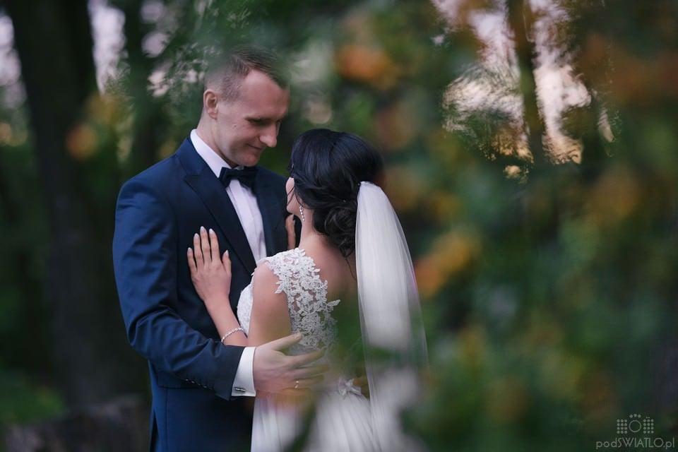Paulina i Daniel Plener Ślubny Park Arkadia 030
