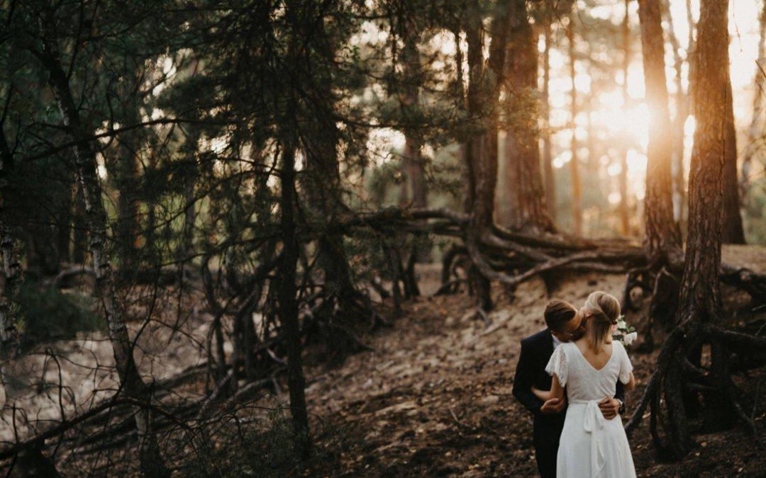 Plener ślubny na wydmach w Międzyborowie | Justyna & Damian