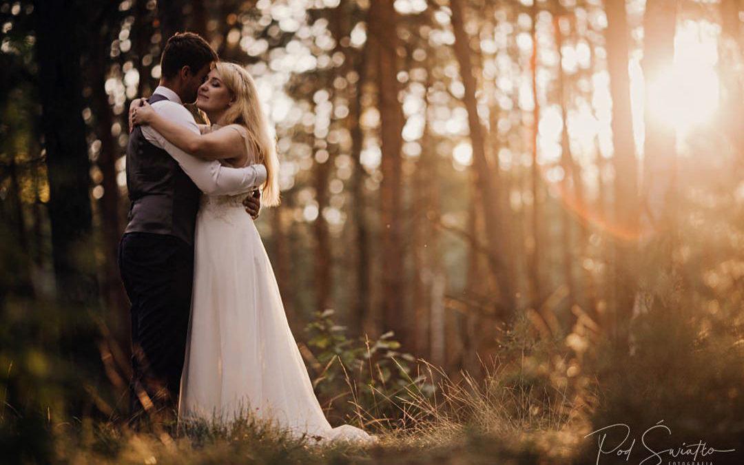 Plener Ślubny w lesie | Ola & Igor