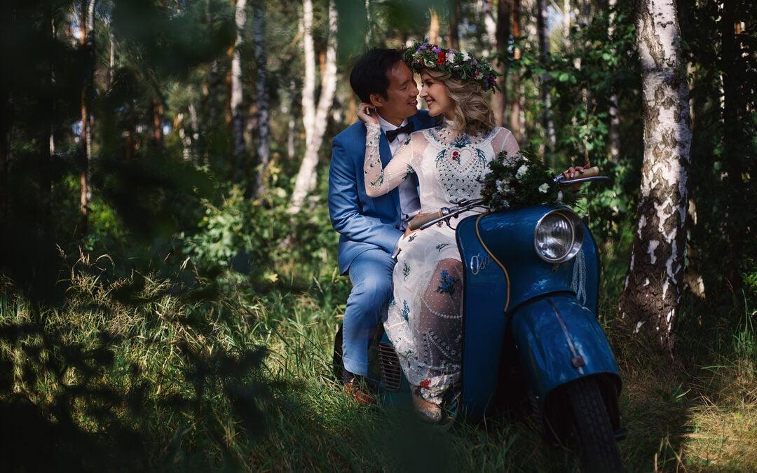 Wiola & Aidan – Sesja plenerowa w dniu ślubu