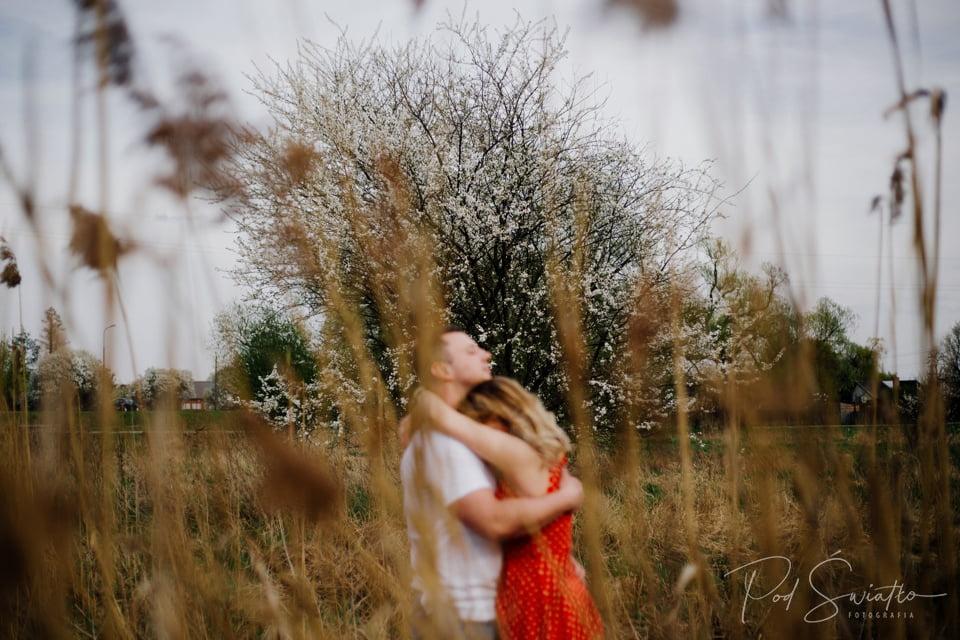 101 sesja narzeczenska kwiaty pruszkow nadarzyn fotograf