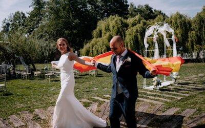 Slow Wedding · Wesele w hiszpańskim klimacie Wierzbowe Ranczo | Joanna i Dani