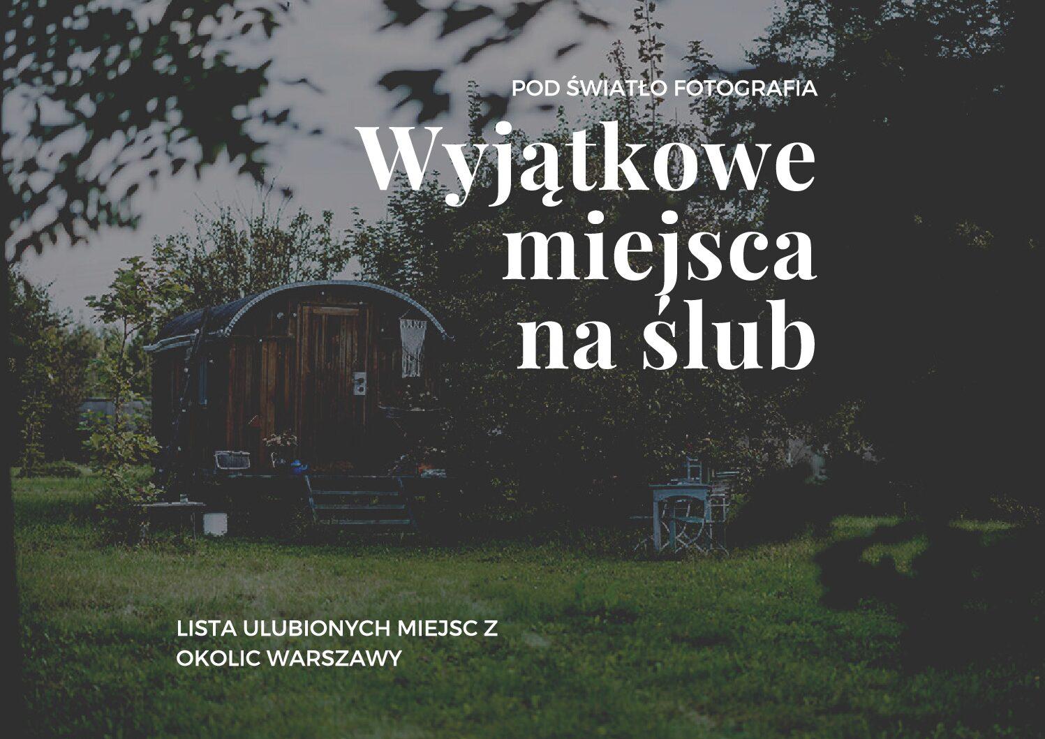 Najpiękniejsze polecane sale weselne w Warszawie i województwie mazowieckim